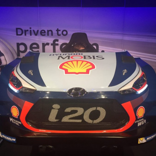 Innocean Hyundai WRC Rally: Ein Hyundai i20 3d Simulator.