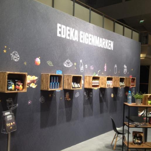 edeka-messestand: